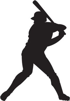 Free Clip-Art: People � Sports � Silhouette Baseball Player - ClipArt Best - ClipArt Best:
