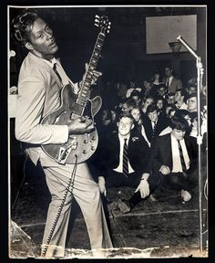 Go Head On! The ART and Rock & Roll of Chuck Berry: Just Him and His Guitar (A Repost)