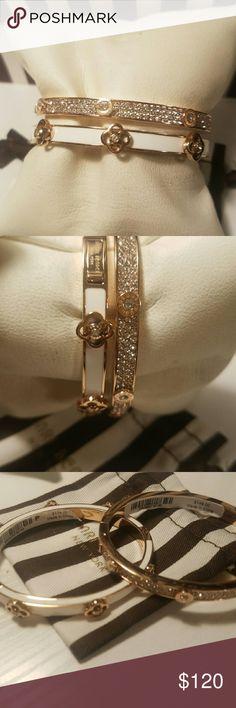 Henri bendel Rose gold bracelet  Rose & white New with tags henri bendel Jewelry Bracelets