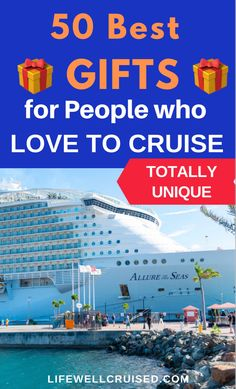 The ultimate gift list for cruisers and those who love cruise travel! As cruises get ready and start up again, these cruise essentials and unique gifts are so helpful! #cruise #travelgifts #giftlist #cruisehacks Cruise Packing Tips, Cruise Travel, Cruise Vacation, Cruise Ship Reviews, Best Cruise Ships, Cruise Excursions, Cruise Port, Family Friendly Cruises, Carnival Cruise Ships