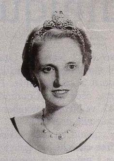 Diamond tiara worn by Princess Maria Elisabeth of Bavaria