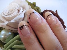 Friday the 13th and black cats aren't all about bad luck...great nail idea!