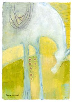 Abstract Pony Original Painting by ShelliWalters on Etsy, $125.00