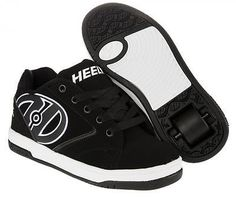 #Heelys #propel 2.0 black #white kids boys roller skate shoes wheeld trainer 7703,  View more on the LINK: http://www.zeppy.io/product/gb/2/141998073923/
