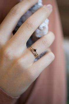 Jennie Kwon Designs - Diamond Equilibrium Point Ring | BONA DRAG
