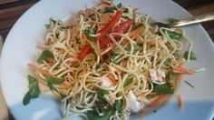 Marks and Spencer sweet chilli chicken noodle salad - 4.5 syns