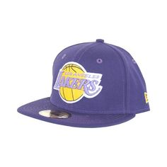 New Era Men's 59fifty Basketball Fitted Hat Cap Los Angeles Lakers Purple (Size 7 3/8) New Era NBA. Available while supplies last! http://www.amazon.com/dp/B005PQ2EKI/ref=cm_sw_r_pi_dp_NXb.wb0V1AENZ