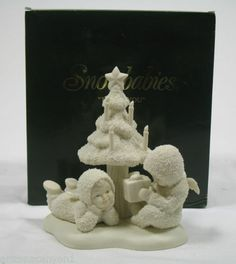 Dept 56 Snowbabies Thank You 68857 Winter Tales of Snowbabies Collection New | eBay