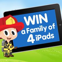 Fingerprint is giving away 4 iPad Minis to one lucky family. Enter to win at http://www.fingerprintplay.com/ipadgiveaway