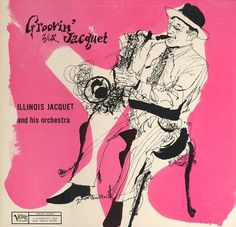 illinois jacquet verve jazz saxophone pink