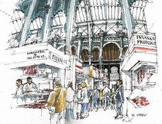 Málaga, main market