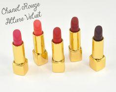 Tried & Tested | Chanel Rouge Allure Velvet Lipsticks ♥