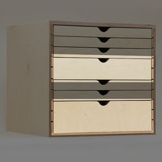 Double & Triple Drawers for Drawer Cabinet is part of cabinet Drawers Trays - Providing paper crafters with highquality spaceefficient storage to organize their craft and unleash creativity Plastic Drawer Organizer, Drawer Organisers, Craft Storage Box, Kitchen Storage, Cabinet Drawers, Storage Drawers, Diy Furniture, Furniture Design, Organization