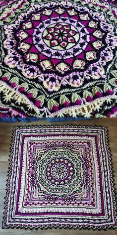 Myriad Blanket Free Crochet Pattern