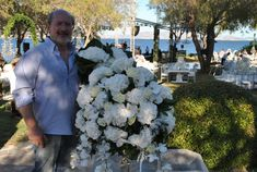 Working with Hydrangea for Wedding Project at Athens Riviera Island Luxury Flowers, David Austin, Athens Greece, Rose Wedding, Hydrangea, Floral Design, Wedding Planning, In This Moment, Photo And Video