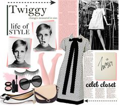 """""""Twiggy - a life of style"""" by capellaweasley on Polyvore"""