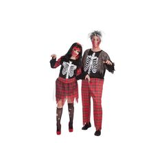 Disfraz Adulto Zombie Colegial