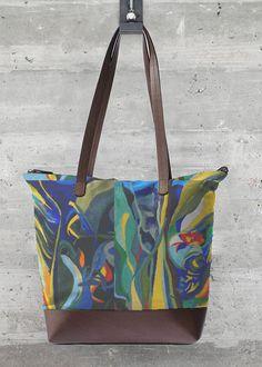 VIDA Tote Bag - Rose Dream Swirls by VIDA Ko30UIPKI