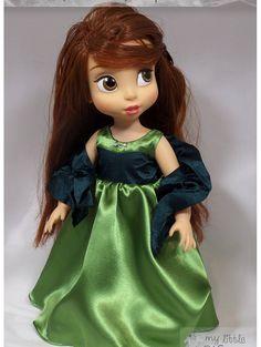 Disney Animator Doll Clothes  Olive green by MyLittleWardrobeWear