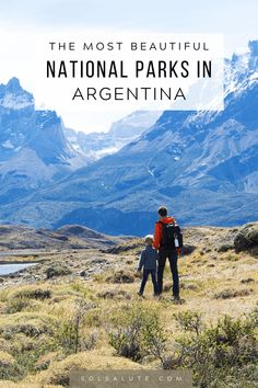 The most beautiful National Parks in Argentina South America Destinations, South America Travel, Holiday Destinations, Travel Destinations, Brazil Travel, Equador, Argentina Travel, Travel Guides, Travel Tips