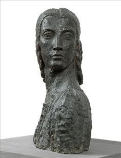 La Roumaine by Bourdelle Plaster Sculpture, Art Sculpture, Bronze Sculpture, Antoine Bourdelle, Carpeaux, Statues, French Sculptor, Plastic Art, Auguste Rodin