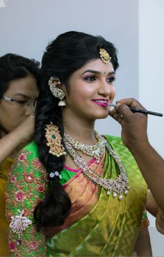 telugu hair styles 1000 images about bridal reception hair styles on 4727