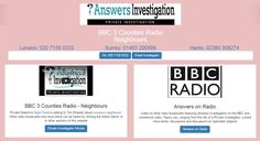 Nuisance Neighbours – Private Investigator Nigel Parsons talks to BBC Interviewer Tim Wheeler: http://www.answers.uk.com/admin/bbc3counties161221timwheelernp.html  Tel: 01483 200999 http://www.answers.uk.com
