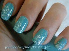 KristiNails - Glitter Tips