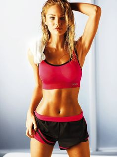 Victoria's Secret Model Workout: 10-Minute ~