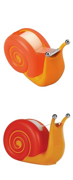 Snail tape dispenser // cute! #product_design