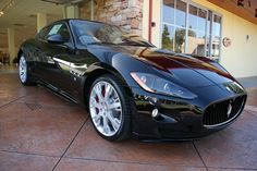 Husband informs me he wants to purchase a Black Mazerati GranTurismo S