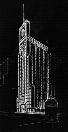 James L. Nagle, Late Entry to the Chicago Tribune Tower Competition, 1980