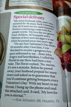 No matter what your husband is getting you for Valentine's day - he fails compared to this husband! WOW!