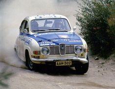 Simo Lampinen - John Davenport 23rd 1000 Lakes Rally 1973 (SAAB 96 V4)