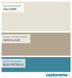 Castorama Nuancier Peinture - Mon harmonie Peinture CALCAIRE satin de COLOURS Collection