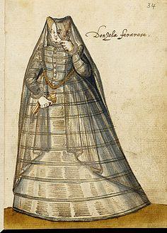 1595, Damsel/maiden of Ferrara.  LACMA Collections Online