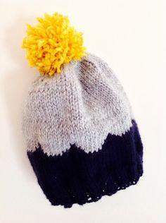 #putapomonit  Scalloped Hat by Elizabeth