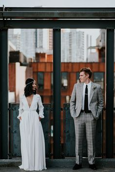 47 Urban Wedding Photos That Will Convince You to Tie the Knot in the City