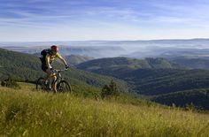 Randonnée VTT sur les crêtes du Mont-Lozère