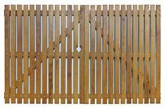 Portão de Madeira - MS 100