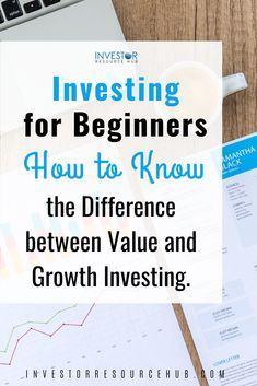 Learn the difference between value and growth investing and how you use these tried and tested strategies within your own portfolio. Learn Stock Market, Stock Market Investing, Investing In Stocks, Best Way To Invest, Where To Invest, Value Investing, Investing Money, Dividend Investing, Investment Quotes