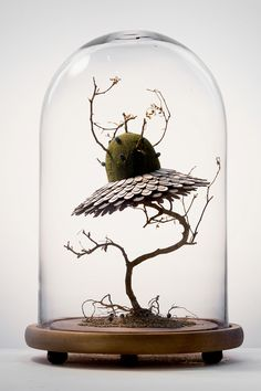 Mixed media art artwork craft design handmade nature paper sculpture surreal surrealism Noreen Loh Hui Miun
