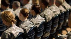 Militares participam de cerimônia nos EUA