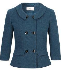 Textured Ponteroma Jacket