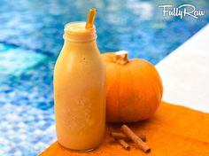 Pumpkin Spice Banana Latte Smoothie in 5 Minutes!