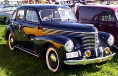 Photo: Opel Kapitan -1948-50 :)