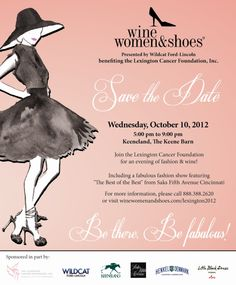 Recapping the 2nd Annual Wine, Women & Shoes event today!