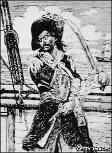 Notorious pirate Captain William Kidd was hung on May 23, 1701.