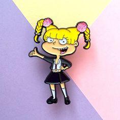 Britney Spears Angelica Pickle Nineties Pin Soft Enamel