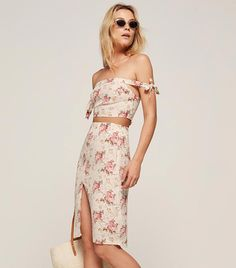 Reformation Gramercy Two Piece